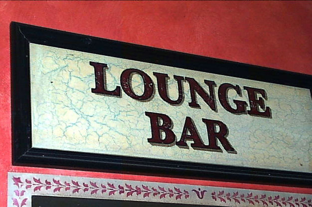 indoor pub signage